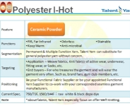 Polyester I-Hot